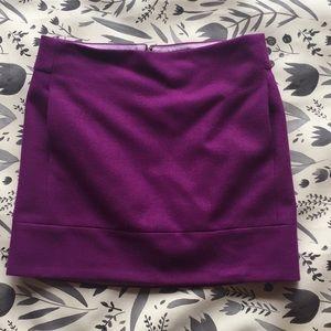 Purple J.Crew skirt with pockets!